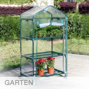 Garten-Gewaechshaus-Rollen